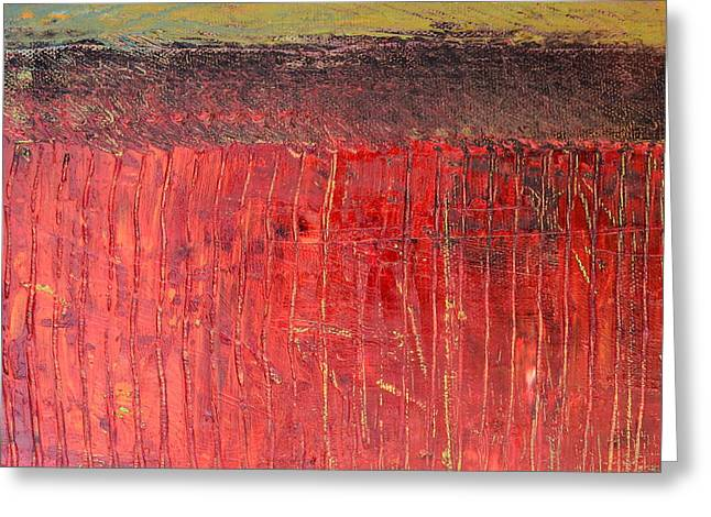 Rothko Greeting Cards - Highway Series - Cranberry Bog Greeting Card by Michelle Calkins