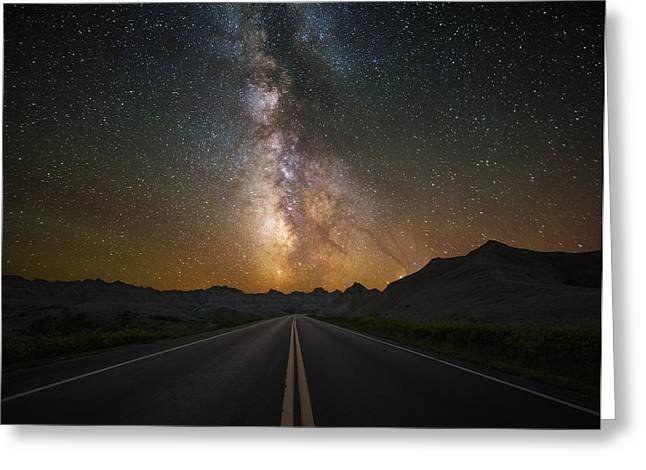 Aaron Greeting Cards - Highway to Heaven Greeting Card by Aaron J Groen