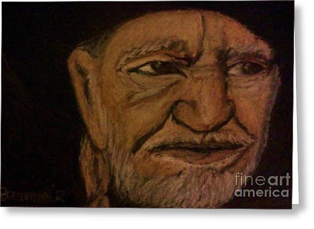 Nashville Drawings Greeting Cards - Highwayman Greeting Card by Christy Saunders Church