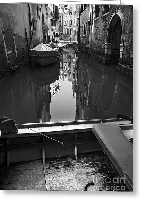 Hidden Corners Greeting Cards - Hidden corners of Venice Greeting Card by Yuri Santin