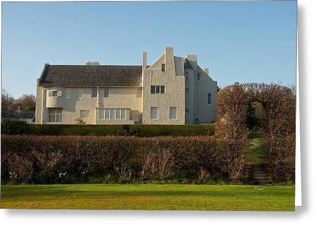 Rennie Greeting Cards - Hill House in the evening Greeting Card by Stephen Taylor