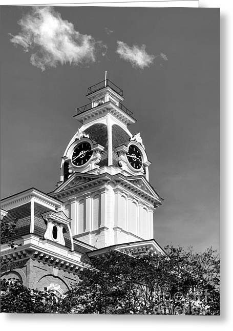 Conservative Greeting Cards - Hillsdale College Central Hall Cupola Greeting Card by University Icons