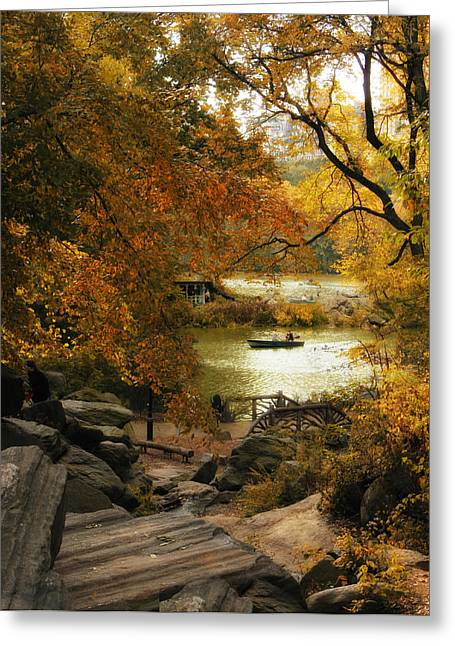 Branch Hill Pond Greeting Cards - Hilltop Views Greeting Card by Jessica Jenney