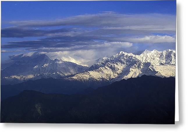 The Great Outdoors Greeting Cards - Himalaya Greeting Card by Anonymous