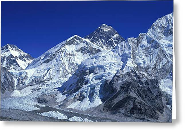 Magnificent Landscape Greeting Cards - Himalaya Mountains, Nepal Greeting Card by Panoramic Images