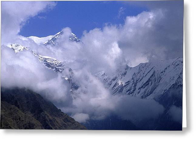 The Great Outdoors Greeting Cards - Himalayas Greeting Card by Anonymous