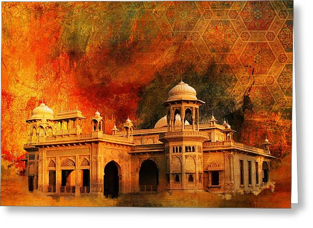 Pakistan Greeting Cards - Hindu Gymkhana Greeting Card by Catf