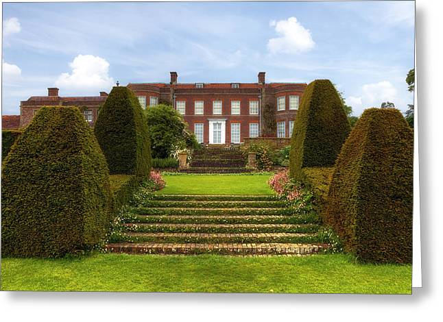 House Garden Greeting Cards - Hinton Ampner House Greeting Card by Joana Kruse