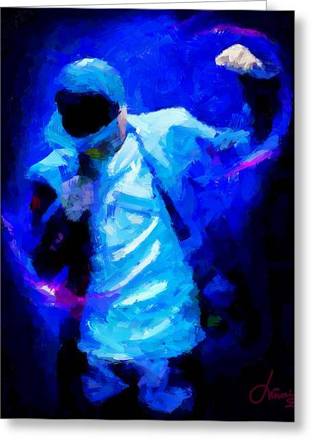 Hip Hop Is More Than Music Tnm Greeting Card by Vincent DiNovici