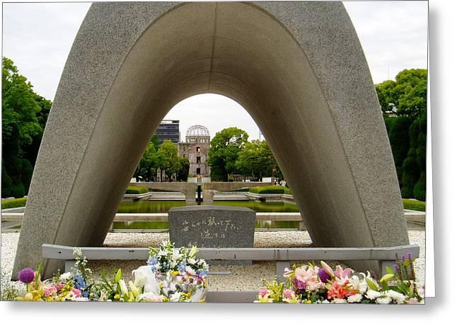 Hiroshima Cenotaph Greeting Card by Duomo Photography