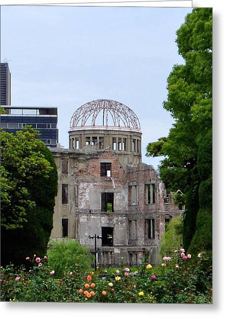 Hiroshima Dome Greeting Card by Duomo Photography