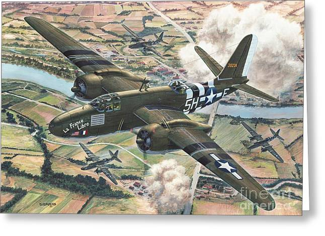 Douglas Greeting Cards - Historic A-20 Havoc Greeting Card by Stu Shepherd