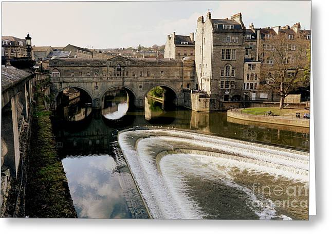 Robert Adam Greeting Cards - Historic Bath Greeting Card by Paul Cowan