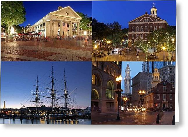 Boston Photos Greeting Cards - Historic Boston  Greeting Card by Juergen Roth