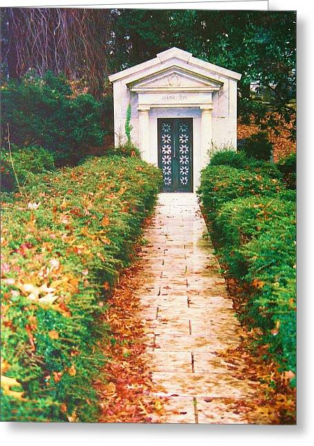 Mauseleum Greeting Cards - Historic Cemetary Greeting Card by Richard Jenkins