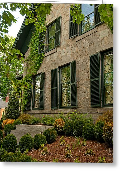 Concord Ma. Greeting Cards - Historic Concord Home Greeting Card by Paul Mangold