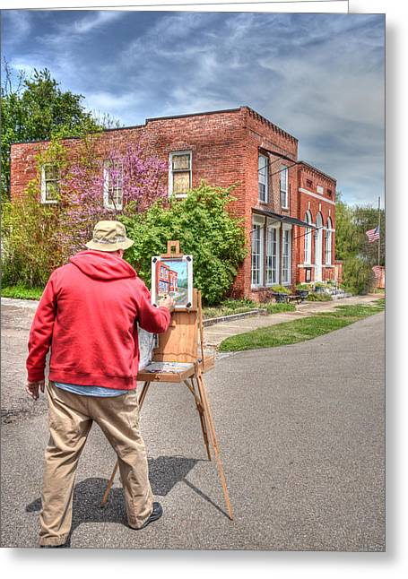 Concord. Historic Greeting Cards - Historic Concord Greeting Card by Lori Douthat