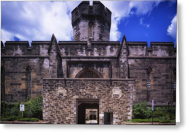 Confined Greeting Cards - Historic Eastern State Penitentiary  Greeting Card by Mountain Dreams