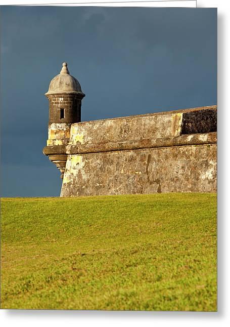 Historic El Morro Fort In Old San Juan Greeting Card by Brian Jannsen