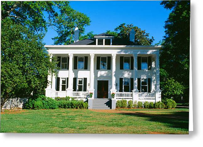 Period Greeting Cards - Historic Home In Madison, Georgia Greeting Card by Panoramic Images