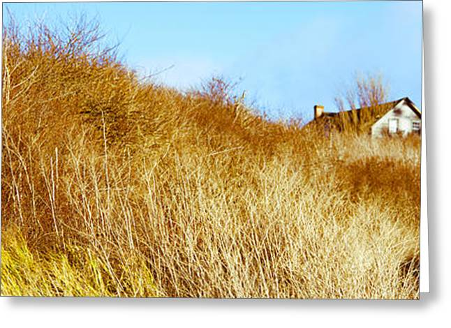 Whidbey Island Greeting Cards - Historic Home On A Landscape, Whidbey Greeting Card by Panoramic Images