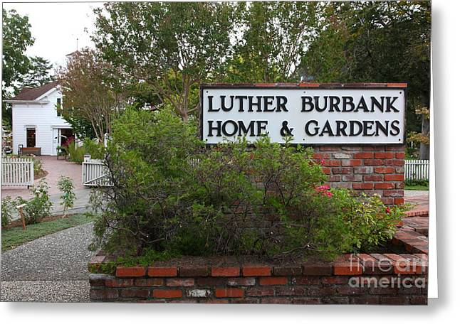Sonoma County Greeting Cards - Historic Luther Burbank Home and Gardens Santa Rosa California 5D25891 Greeting Card by Wingsdomain Art and Photography