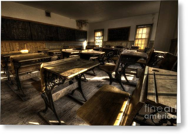 One Room School Greeting Cards - Historic School Bannack Montana 2 Greeting Card by Bob Christopher