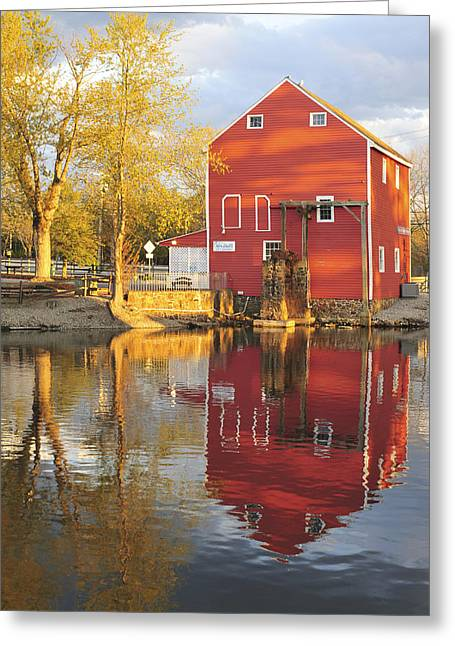Purchase Greeting Cards - Historic Smithville Shop New Jersey Greeting Card by Terry DeLuco