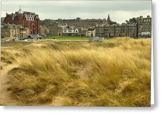 Clubhouse Greeting Cards - Historic St Andrews Golf Club Scotland Greeting Card by Mountain Dreams