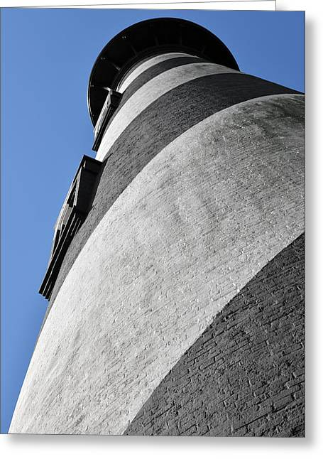 Watch Tower Greeting Cards - Historic St Augustine Lighthouse Greeting Card by Christine Till