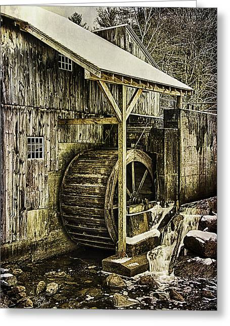 Saw Greeting Cards - Historic Taylor Mill Greeting Card by Betty Denise