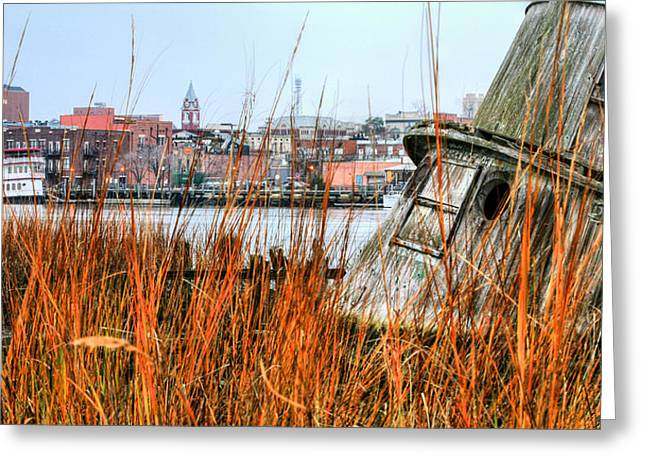 Cape Fear River Greeting Cards - Historic Wilmington Greeting Card by JC Findley