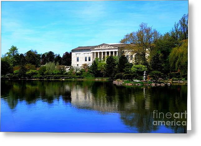 Historical Images Greeting Cards - Buffalo History Museum Greeting Card by Kathleen Struckle
