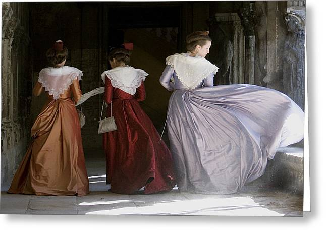 South Of France Greeting Cards - Historical costume from Arles Greeting Card by Gilles Martin-Raget