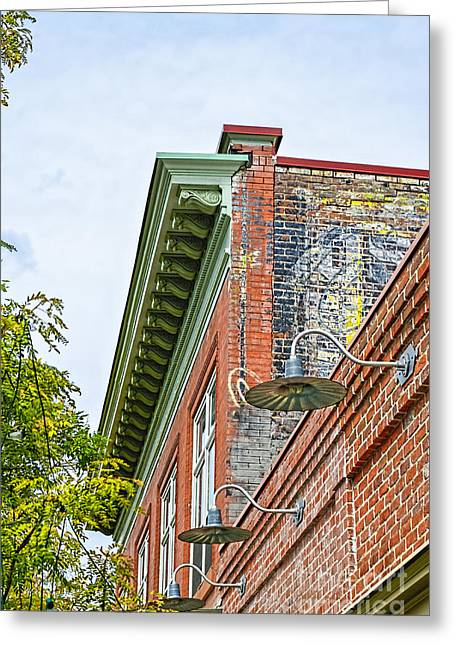 Fort Collins Greeting Cards - History In Brick Greeting Card by Keith Ducker