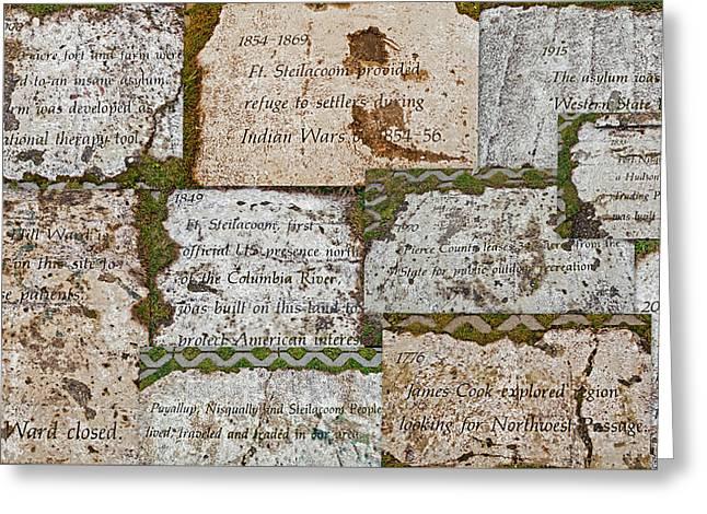 History Of Hill Ward Asylum Greeting Card by Tikvah's Hope