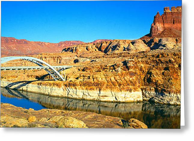 Hite Overlook And Cataract Canyon Greeting Card by Panoramic Images