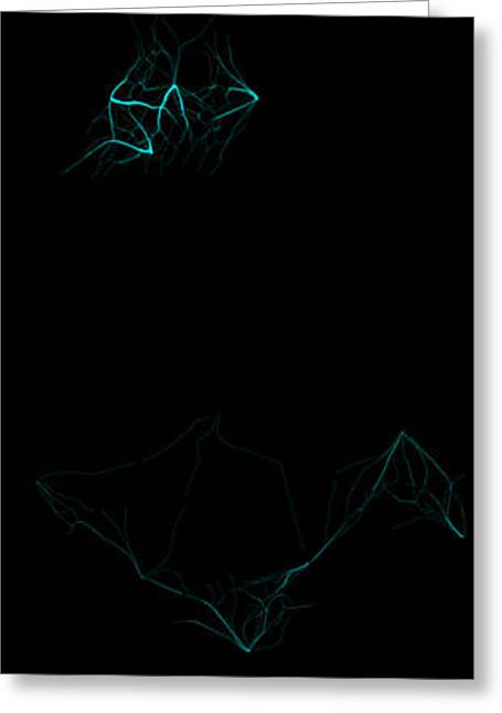 Algorithmic Greeting Cards - Hive Intelligence A Series 1 Greeting Card by EndOfLine