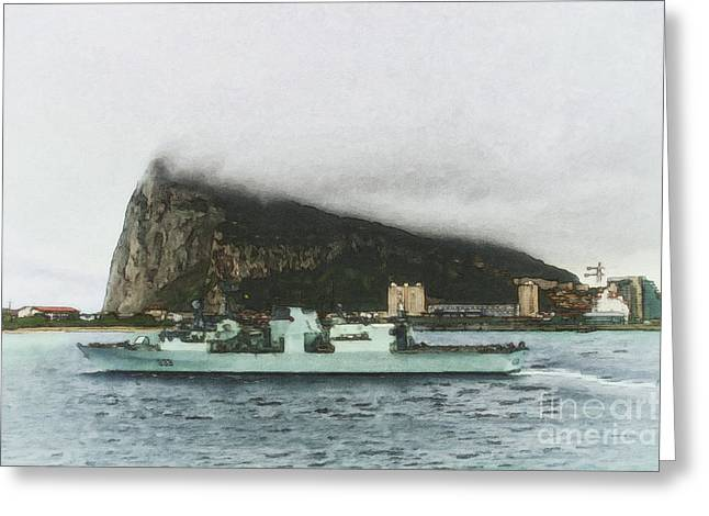 Sot Greeting Cards - HMCS Toronto Underway by Shawna Mac Greeting Card by Shawna Mac