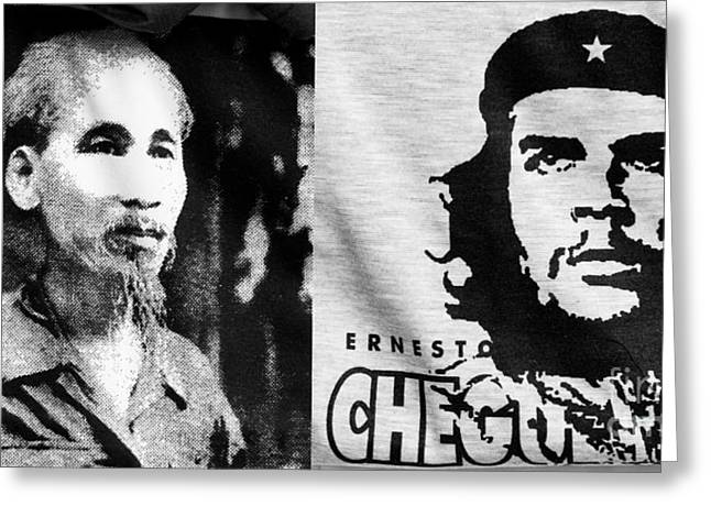 Marxists Greeting Cards - Ho Chi Minh and Che Guevara Greeting Card by Rick Piper Photography