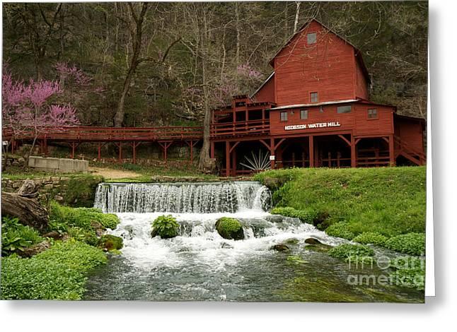 Hodgson Mill Greeting Card by Chris  Brewington Photography LLC
