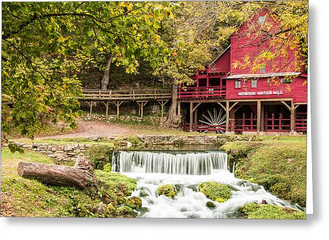 Bryant Greeting Cards - Hodgson Mill Greeting Card by Steven Bateson