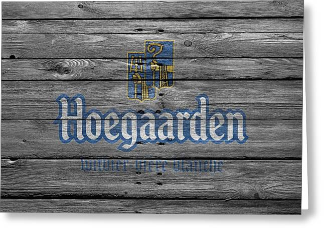 Tap Greeting Cards - Hoegaarden Greeting Card by Joe Hamilton