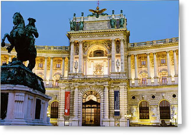 Opulence Greeting Cards - Hofburg Palace, Vienna, Austria Greeting Card by Panoramic Images