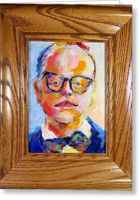 Capote Greeting Cards - Hoffmans Capote Greeting Card by Les Leffingwell