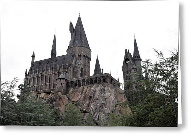 Hermione Granger Greeting Cards - Hogwarts Bridge Greeting Card by Rebecca Parker