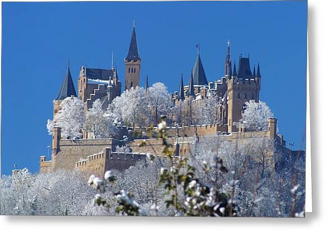 Hohenzollern Castle Germany Greeting Card by Rudi Prott