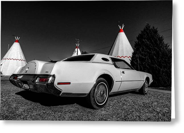 Tipis Greeting Cards - Holbrook AZ - Wigwam Motel 009 Greeting Card by Lance Vaughn