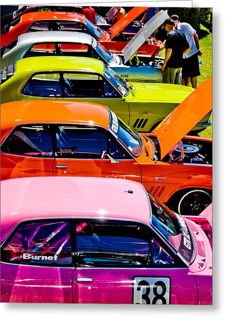 Phil Motography Clark Greeting Cards - Holden Colors Greeting Card by Phil