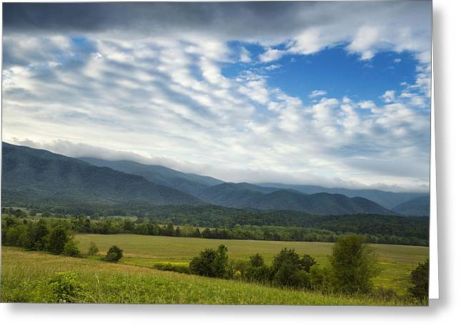 Mountain Greeting Cards - Hole in the Sky Greeting Card by Andrew Soundarajan
